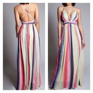 🦄L'Atisite by Amy Unicorn Dream Maxi Dress